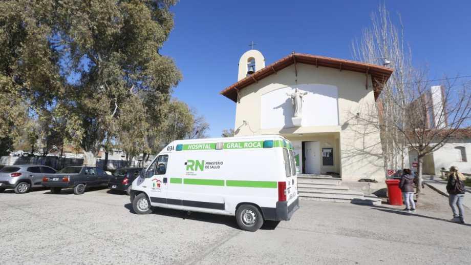 El hospital de Roca. Foto: Juan Thomes