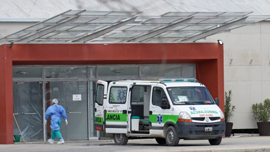 El DUAM atiende a paciente con síntomas leves de covid-19. Foto: Florencia Salto
