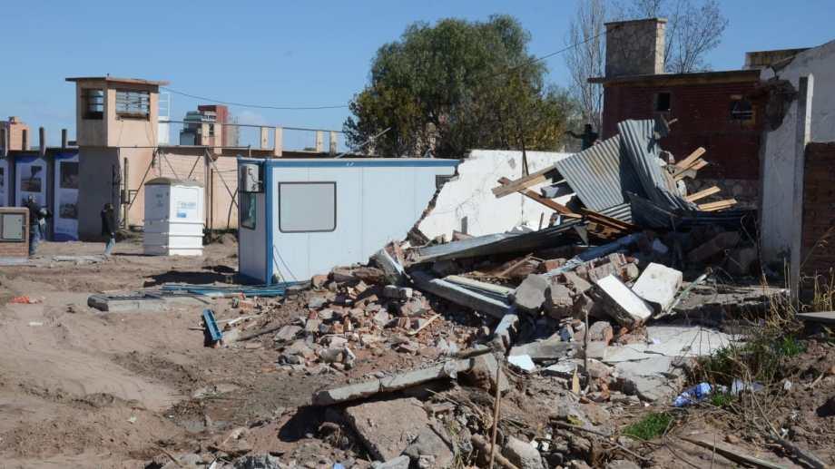 La vivienda que fue demolida. Foto: Yamil Regules.