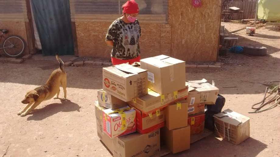 Canabbicultores de Neuquén iniciaron una campaña solidaria para reunir alimentos para merenderos. (Foto: Gentileza).