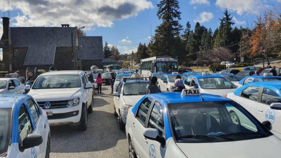 Los taxis y remises se manifestaron contra el avance de algunas plataformas. Foto: archivo
