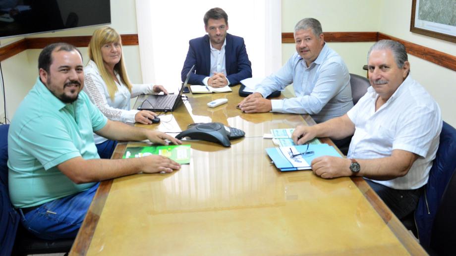 La reunión de la Función Pública será presencial, entre funcionarios y representantes de UPCN y ATE Foto  : Marcelo Ochoa
