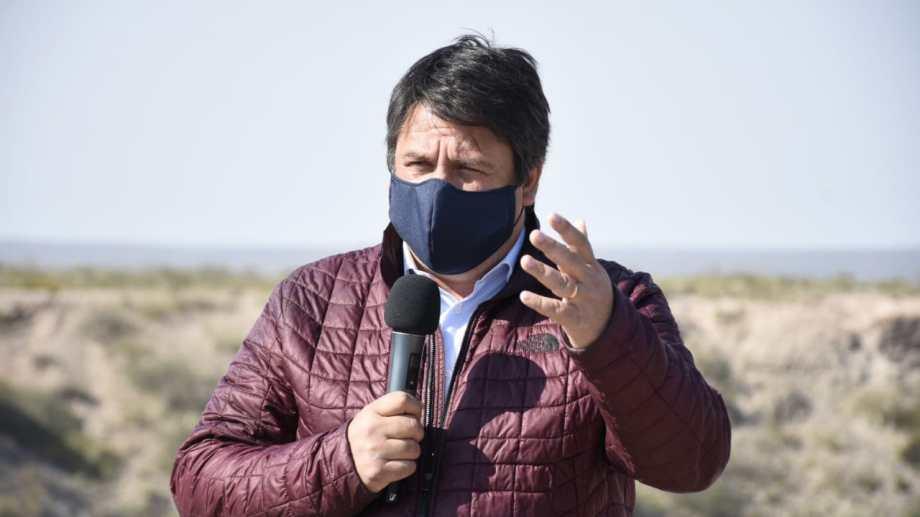 Mariano Gaido dijo que beneficiará a 4 mil comerciantes de Neuquén. Foto: Florencia Salto