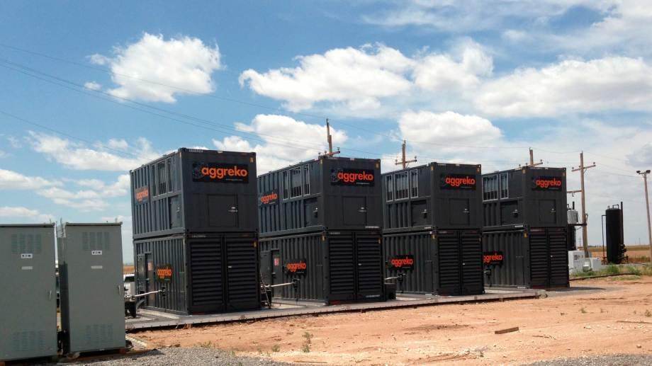 Aggreko suministra 9 MW de potencia utilizando gas del mismo del área de Vaca Muerta. (Foto: gentileza)