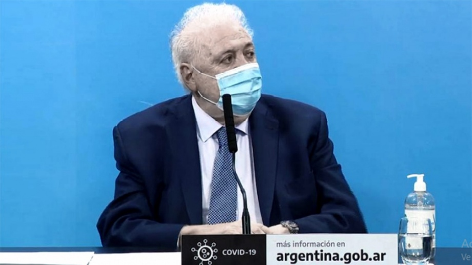 Ginés González García anuncio la extensión del bono a trabajadores de la salud.