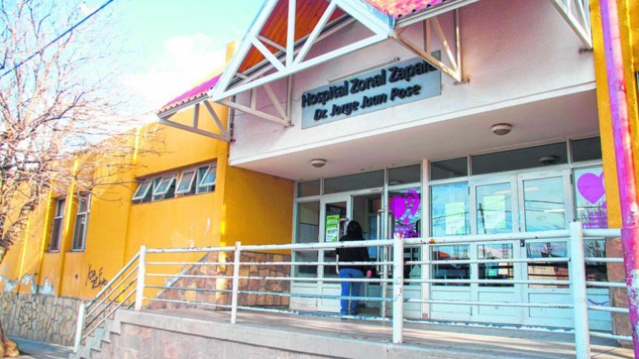 EL hospital Zapala recibe a pacientes covid moderados y graves de la provincia. Foto archivo.