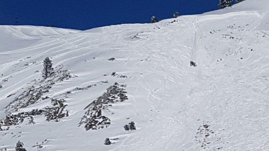 Las avalanchas de placa son las más comunes en la región.  Imagen ilustrativa