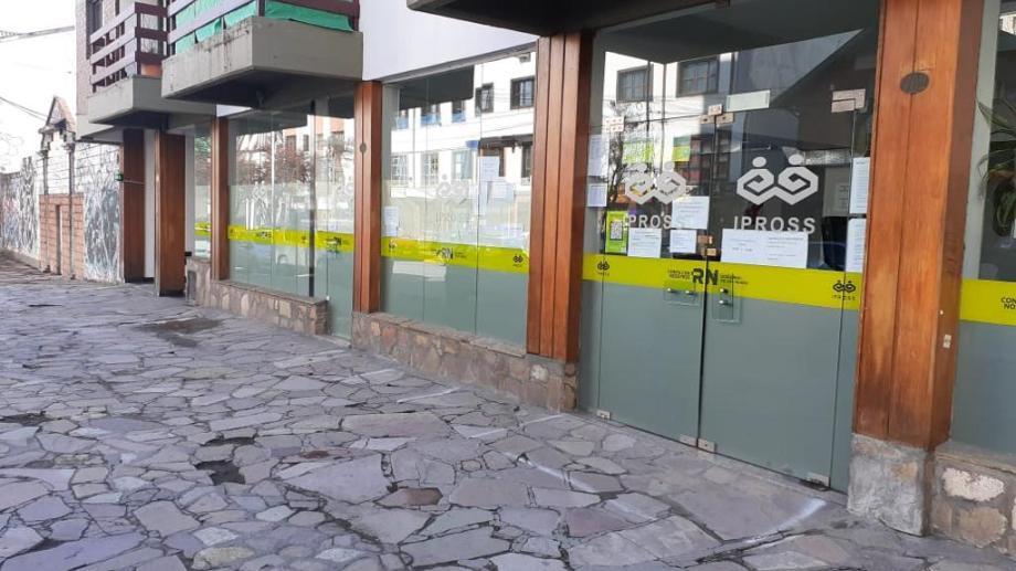 La delegación de Ipross en Bariloche permanecerá cerrada por desinfección.  gentileza