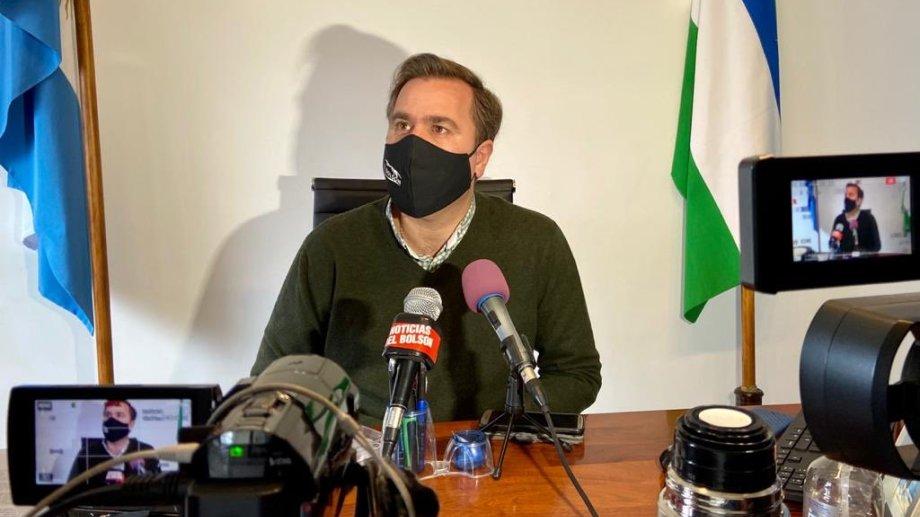 El intendente de El Bolsón cuestionó la decisión del juez federal subrogante. Foto: gentileza