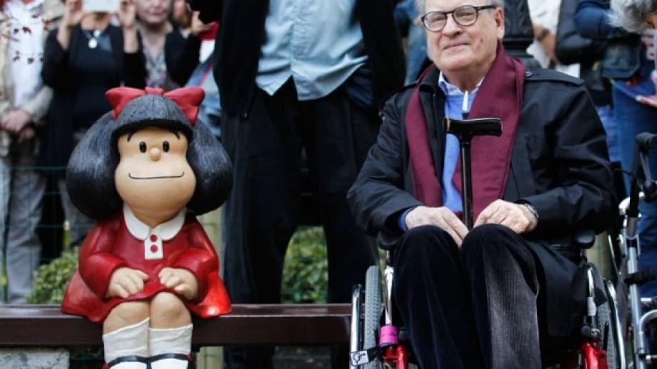 Murió Quino, el creador de Mafalda.