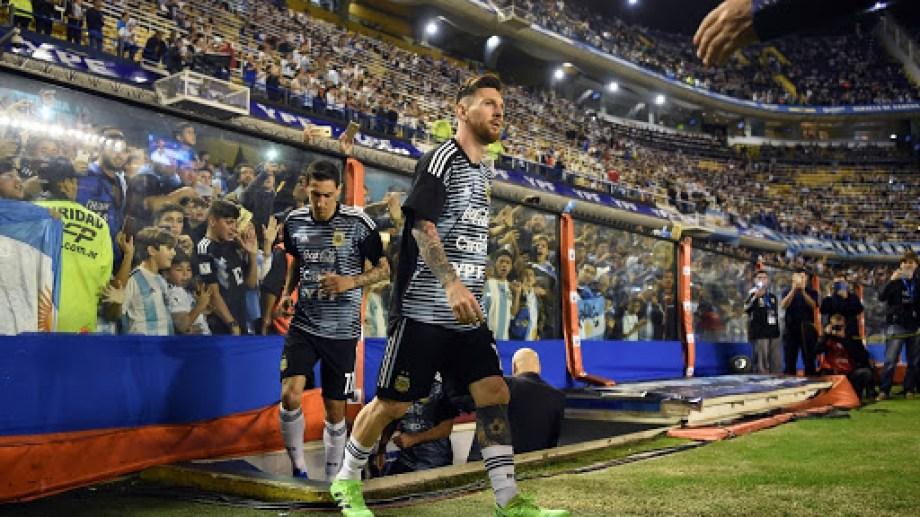 Argentina debutará contra Ecuador en la cancha de Boca.
