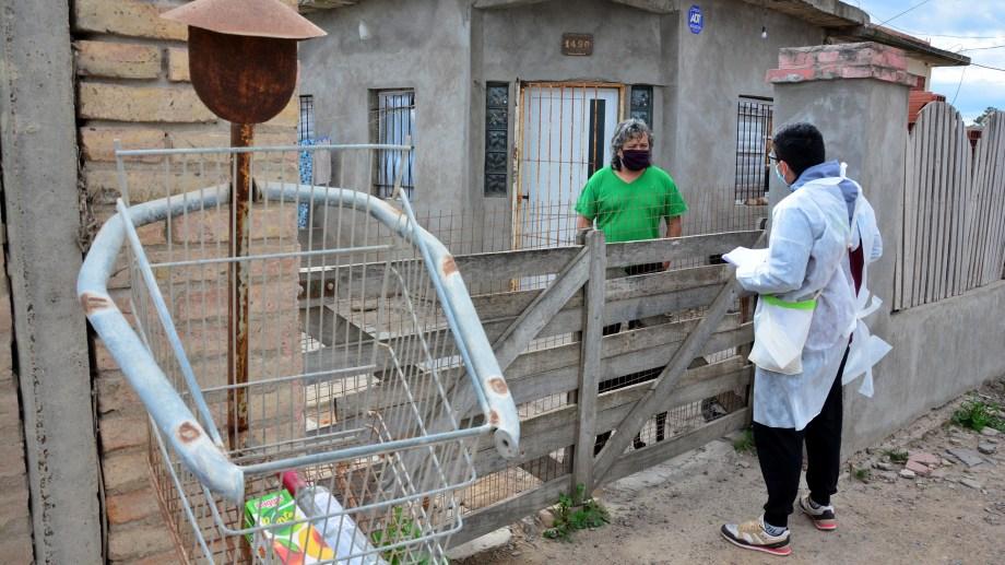 El  primer operativo se realizó en el barrio Santa Clara. Foto: Marcelo Ochoa