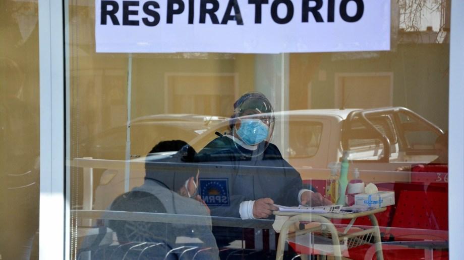 El Hospital Artemides Zatti en tiempos de pandemia. Foto: Marcelo Ochoa