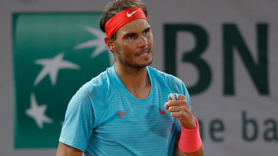 El español jugó su 100° partido en Roland Garros, donde solo perdió 2. (Foto: AP)