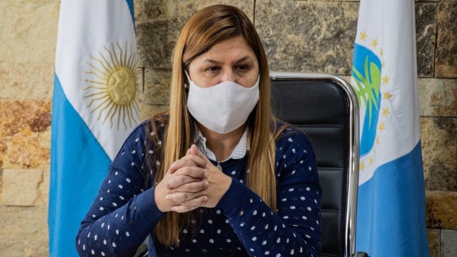 La intendenta de Plottier, Gloria Ruiz, prohibió las reuniones sociales pero no limitó la circulación. (Gentileza).-