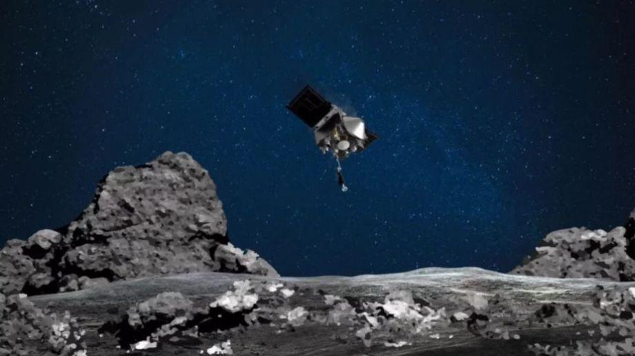 La Nasa celebró el avance de la sonda.-
