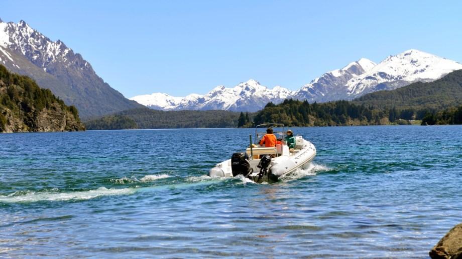 El accidente sucedió cerca de las 21 de este miércoles en el lago Moreno de Bariloche. (Foto Archivo Alfredo Leiva)