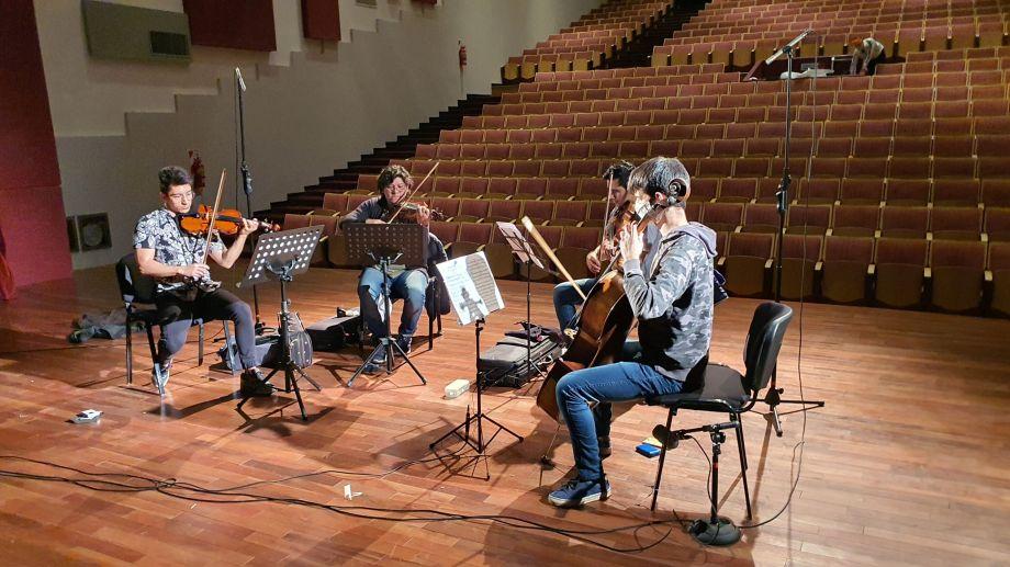 Dedicado a los enfermos de Covid, el concierto tendrá proyección en monitores del Hospital Pedro Mogillansky.
