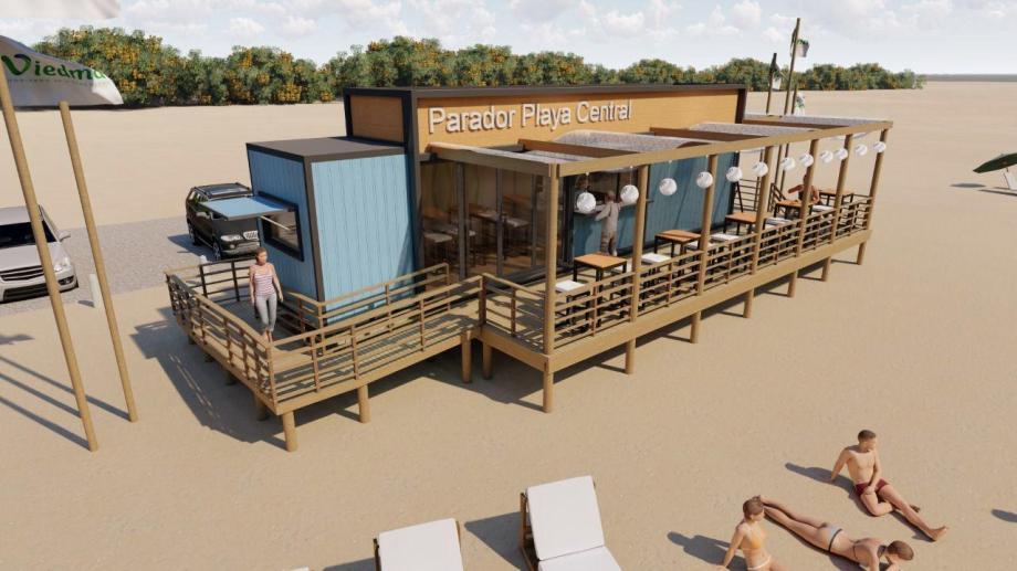La propuesta es ofrecer servicios básicos en las playas.
