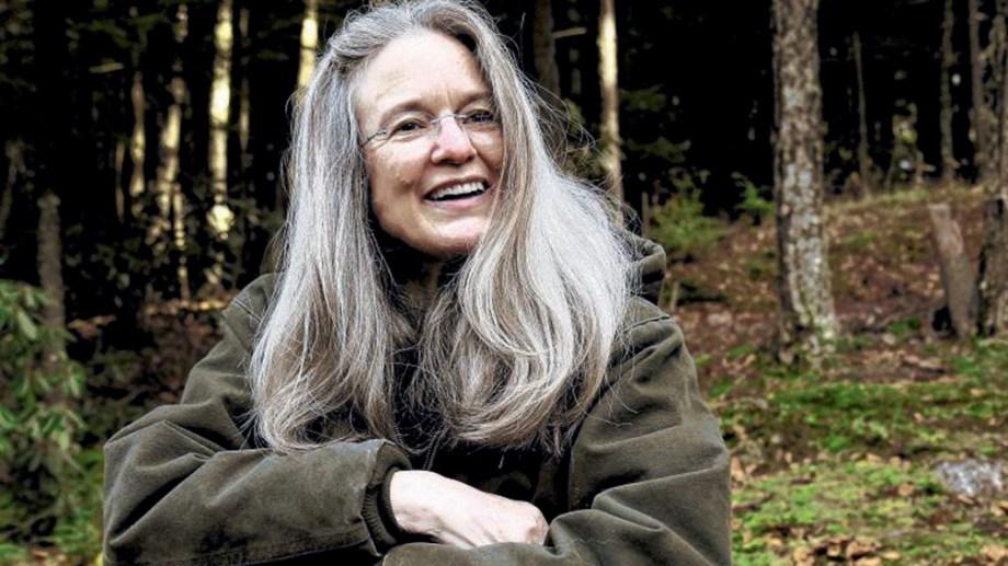 La poeta norteamericana Sharon Olds brilló durante su presentación.