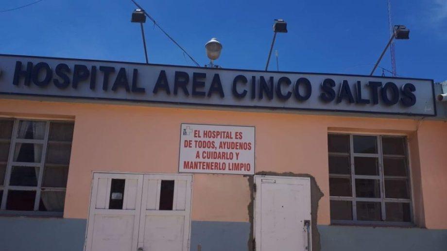 La enfermera trabajó 37 años en el hospital de Cinco Saltos. (Gentileza).-
