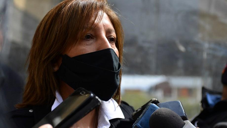 La gobernadora Arabela Carreras consideró que no es oportuno volver a las aulas. Foto: archivo