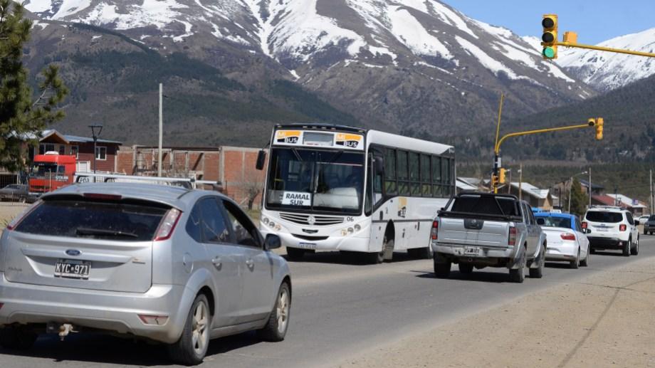 El incremento del boleto en Bariloche estaba previsto para febrero de 2020 pero se frenó. Archivo
