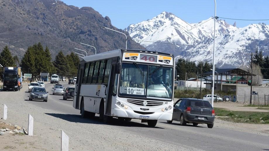 Los choferes de Mi Bus reclaman el pago de salarios de septiembre y adicionales adeudados. Archivo