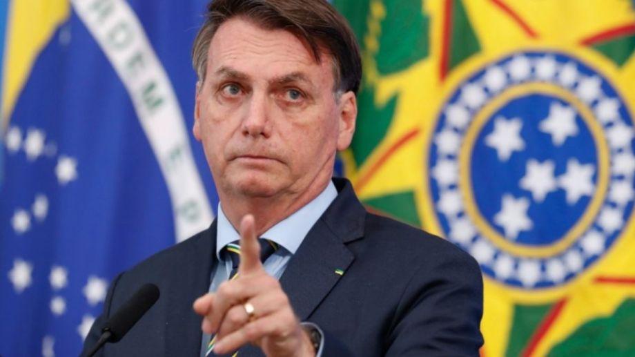 """""""El presidente soy yo, está cancelada la compra de vacunas chinas"""", dijo Bolsonaro."""