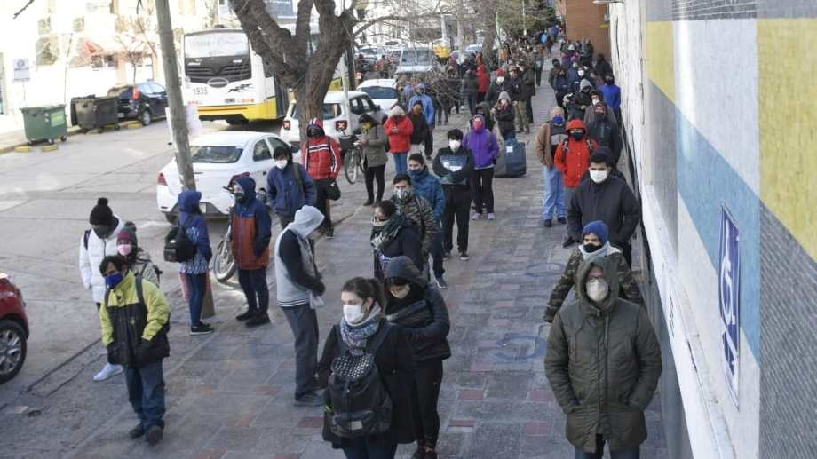 La caída del empleo formal alcanzó un 9,7 por ciento en Neuquén Foto: Florencia Salto