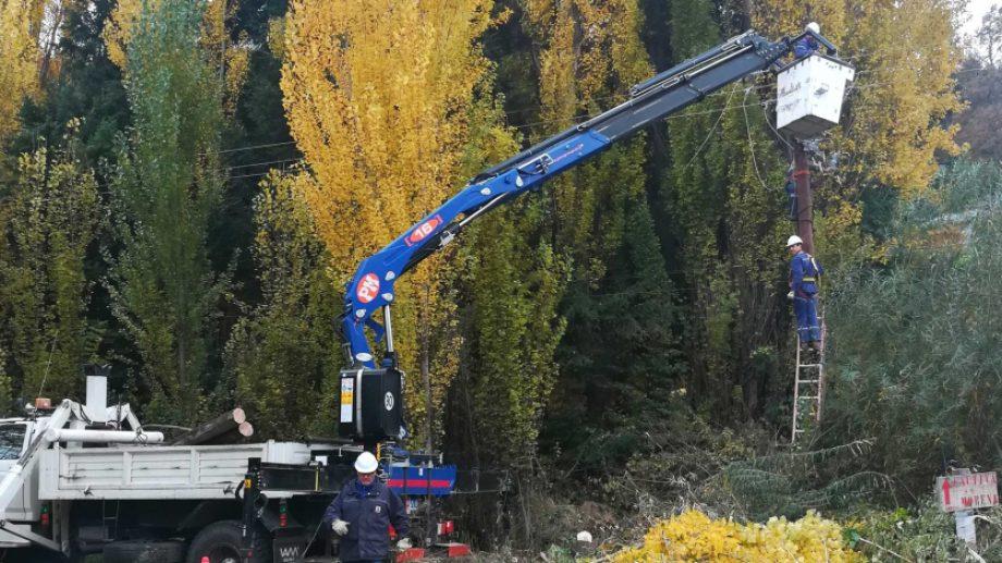 Se anunciaron tareas de mantenimiento. Plottier y Senillosa tendrán cortes del servicio eléctrico. (Foto: EPEN)