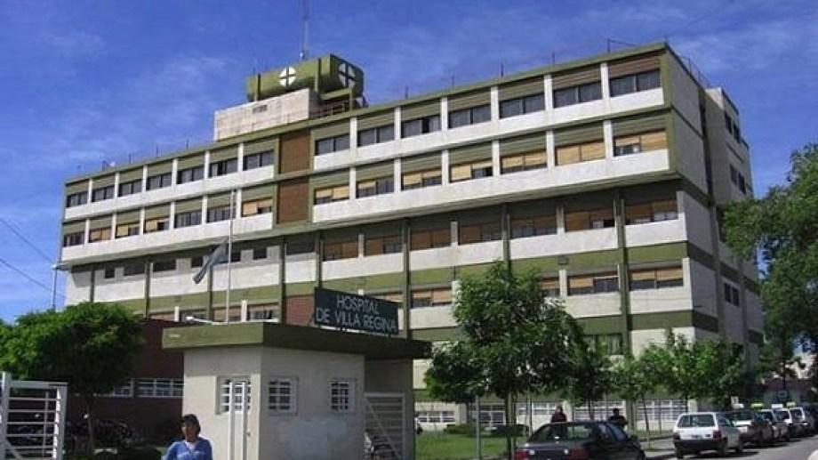 En el hospital de Regina se investiga el caso denunciado por familiares de Luis Parra. (Foto Néstor Salas)