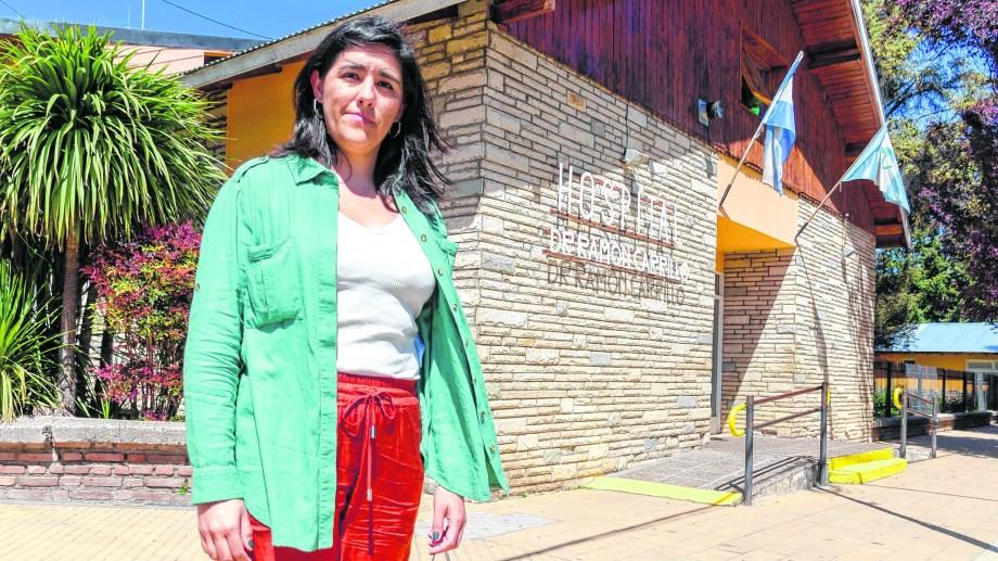 Sustentabilidad. Antonella Risso fue coautora de la guía para más hospitales verdes en el mundo. Foto: Patricio Rodriguez
