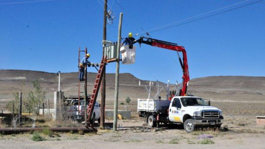 El corte afectará a Bariloche y 9 localidades de la Región Sur. Foto: José Mellado.