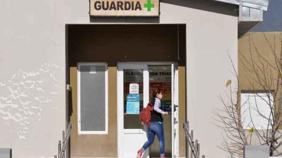 """El hospital """"Dr. Rogelio Cortizo"""" está colapsado. No hay camas disponibles para pacientes COVID. Foto: José Mellado."""