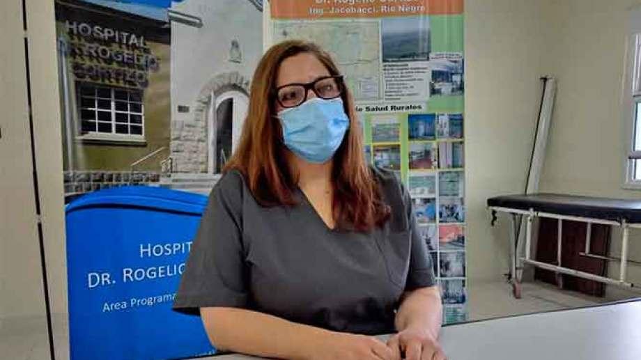 """El personal de Salud pide """"por favor"""" a la población que se cuide y tenga responsabilidad social. Foto: gentileza."""