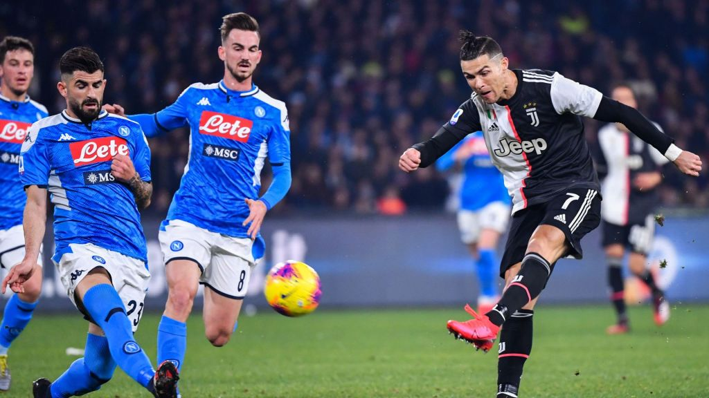 Juventus-Napoli, el plato fuerte de la Serie A, en duda ...