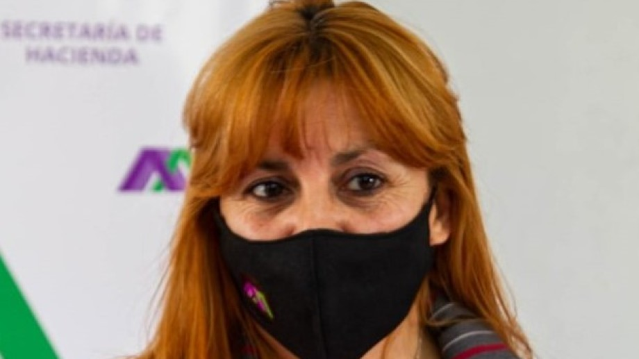 """Intendente Silvina Frias: """"estamos haciendo un gran esfuerzo"""". Foto: gentileza."""