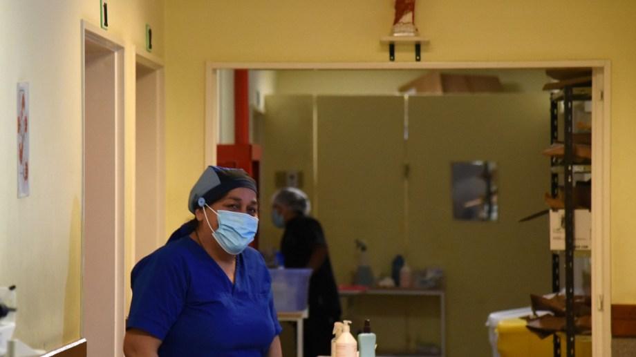 El sistema de salud se encuentra colapsado. Foto: Florencia Salto