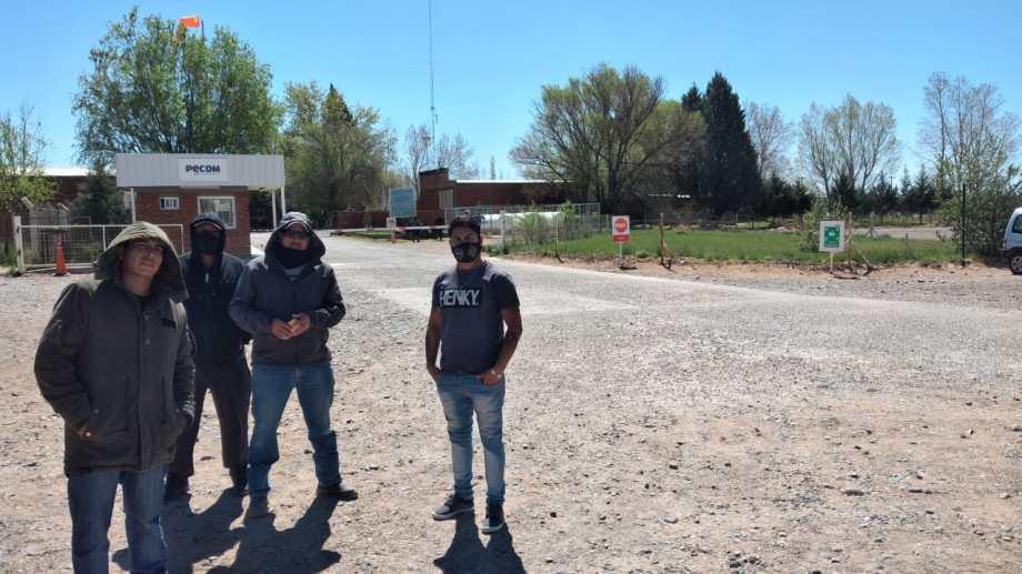 Un grupo se quedó en la base de Puesto Hernández y el resto se dividió entre Chihuido de la Sierra Negra, Lomita y Pata Mora. (foto: gentileza)