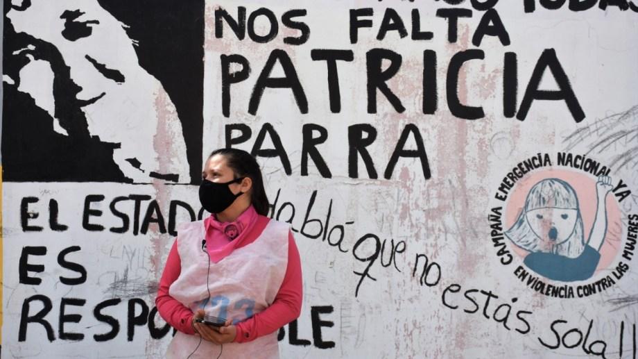 Magdalena Rosa Valenzuela Parra recuerda a su madre a dos años del femicidio. Foto Emiliana Cantera.