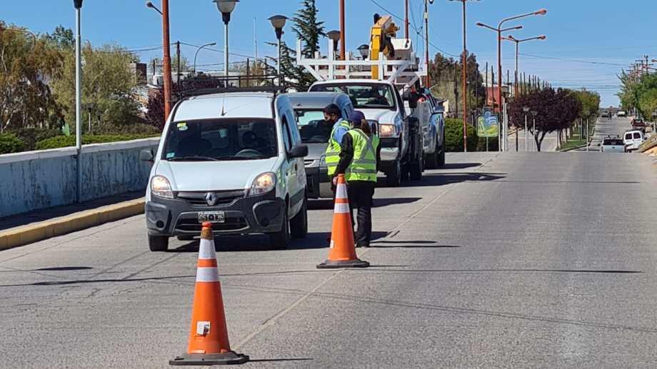 Cutral Co y otras seis ciudades tienen controles para que se cumpla la resrtricción vehicular.