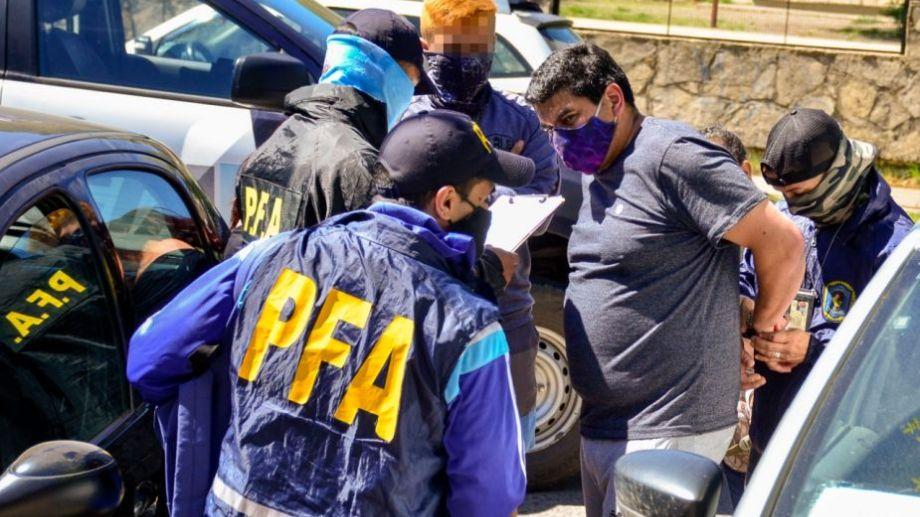 El hombre fue detenido esta tarde en San Martín. Foto: Patricio Rodríguez