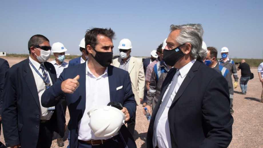 Darío Marttínez marcó la importancia del Plan Gas 4 y el papel de Vaca Muerta. Foto: Gentileza