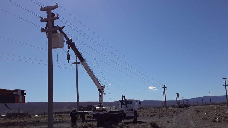 Realizarán tareas de mantenimiento  en líneas de alta tensión.   Foto: Prensa EPEN