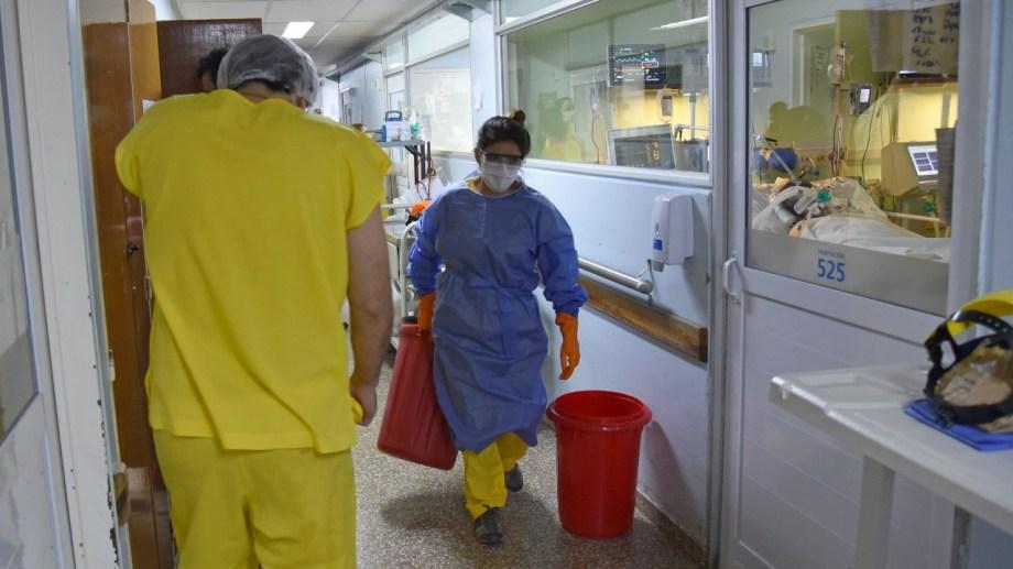 La ciudad de Centenario se conoció en las últimas horas que ya no tiene transmisión comunitaria de coronavirus. Foto: Florencia Salto.