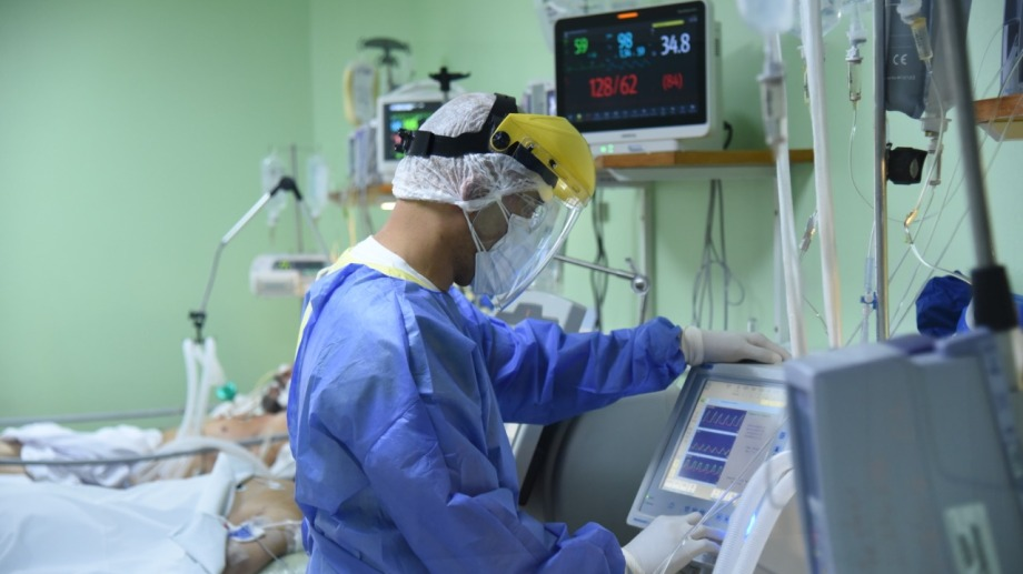 Covid 19 en el hospital (foto Florencia Salto)
