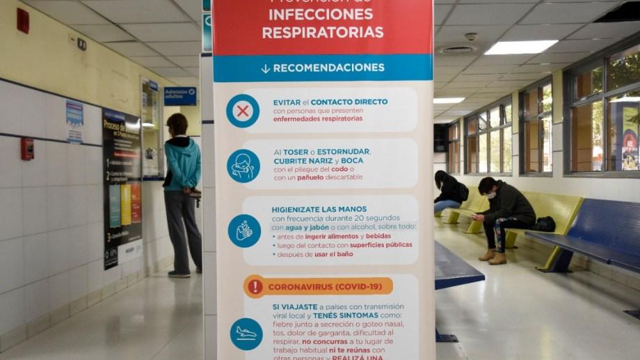 La mujer murió e la guardia del hospital Castro Rendón de Neuquén. (Archivo Florencia Salto).-