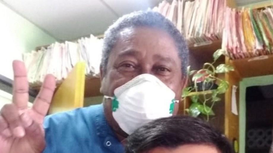 Conte tenía 63 años. Estuvo enfermo de covid-19 en julio.