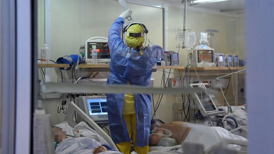 La ocupación de camas de terapia intensiva sigue por encima del 90% en Neuquén. (Archivo Florencia Salto).-
